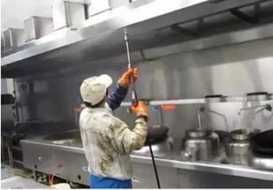 商用厨具公司——排烟设备清洗,了解一下?