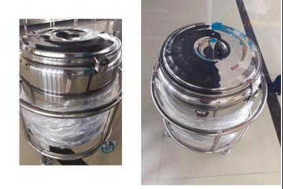 江苏省中医院保温汤桶车定制安装