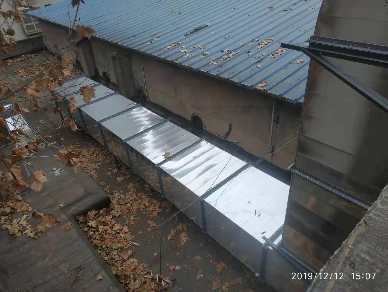 商用厨房设备-西安铁路局整套排烟系统改造安装工程