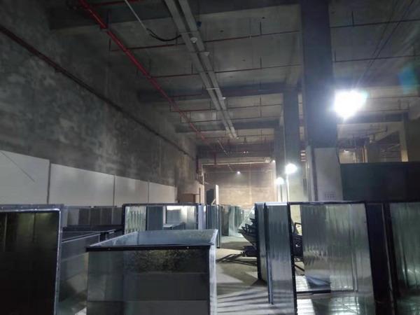 """商用厨房设备——新店开张,""""同福客栈""""排烟安装"""